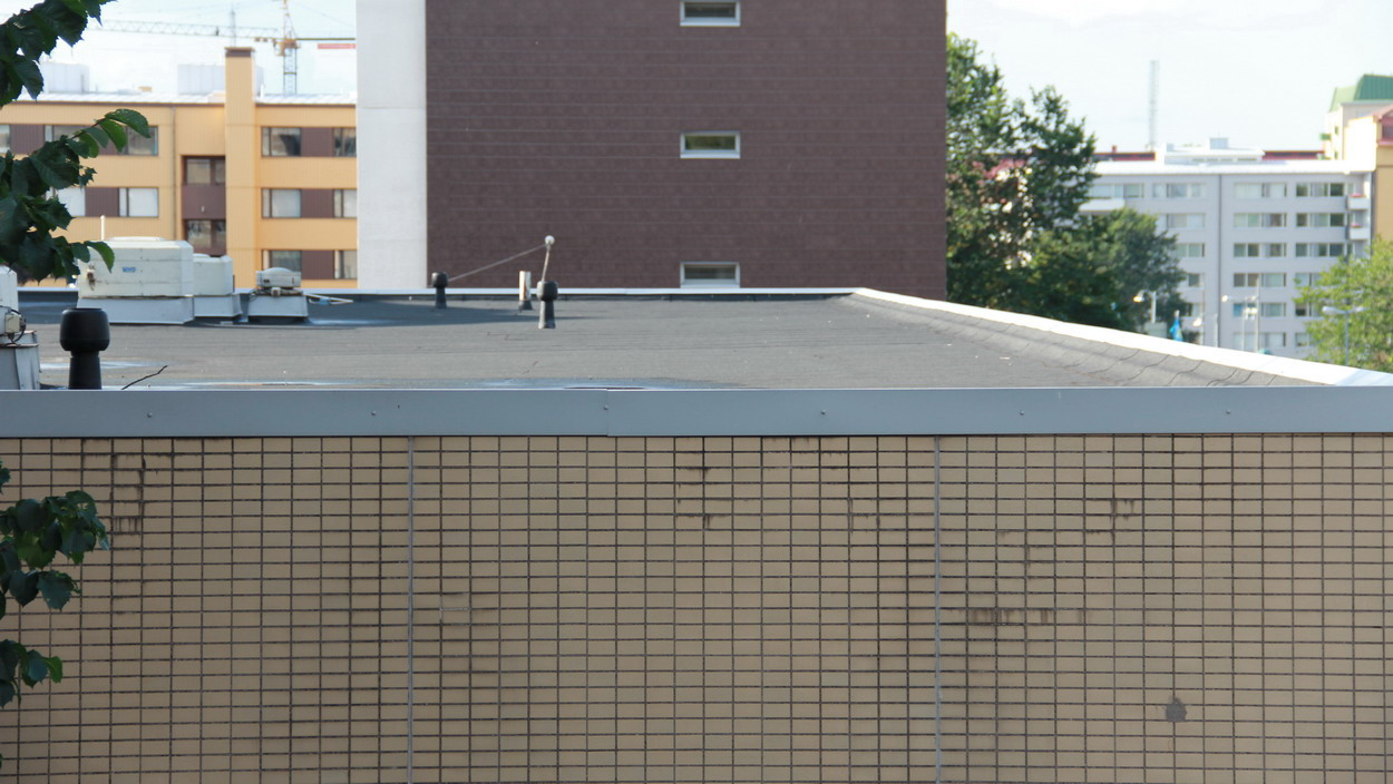 Commercial Flat Roof Installation